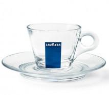 Чашка Lavazza еспрессо скло 1шт