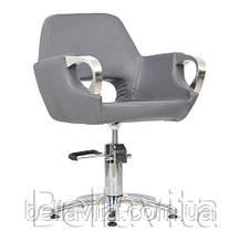 Перукарське крісло Mediolan Steel