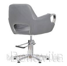 Парикмахерское кресло Mediolan Steel, фото 2