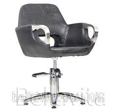 Парикмахерское кресло Mediolan Steel, фото 3