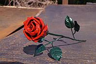 Кованая роза модель №39