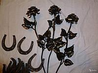 Кованая роза модель №40