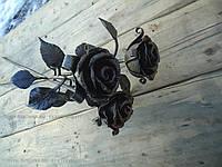 Кованая роза модель №49