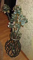 Кованая роза модель №5