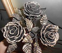 Кованая роза модель №8