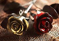 Кованая роза модель №11