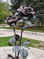 Кованая роза модель №14