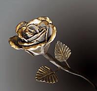 Кованая роза модель №17