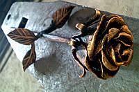 Кованая роза модель №18
