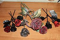 Кованая роза модель №19