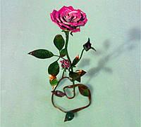 Кованая роза модель №20