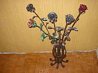 Кованая роза модель №24