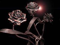 Кованая роза модель №27