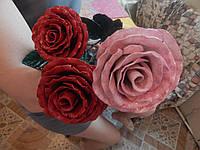 Кованая роза модель №33