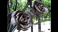 Кованая роза модель №36