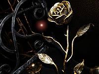 Кованая роза модель №51