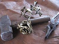 Кованая роза модель №54