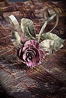 Кованая роза модель №57