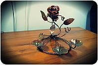 Кованая роза модель №58