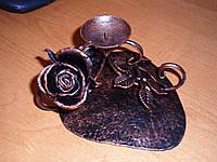 Кованая роза модель №84