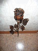 Кованая роза модель №114