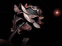 Кованая роза модель №186