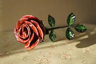 Кованая роза модель №203