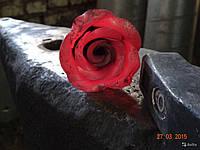 Кованая роза модель №247