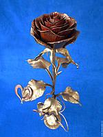 Кованая роза модель №258