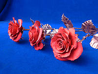 Кованая роза модель №259