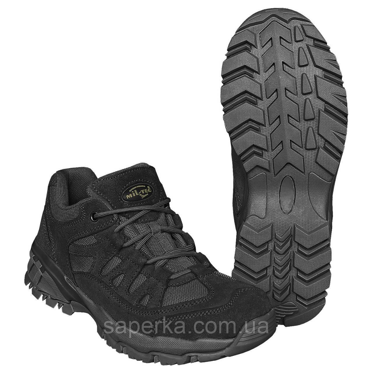 Армейские тактические ботинки trooper 2,5 дюйма black Mil-Tec