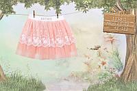 Юбка MONE 110,116,122  Персиковый