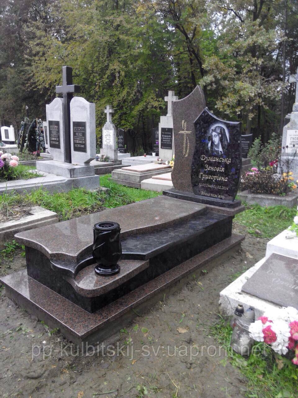 Надгробний пам'ятник гранітний 011