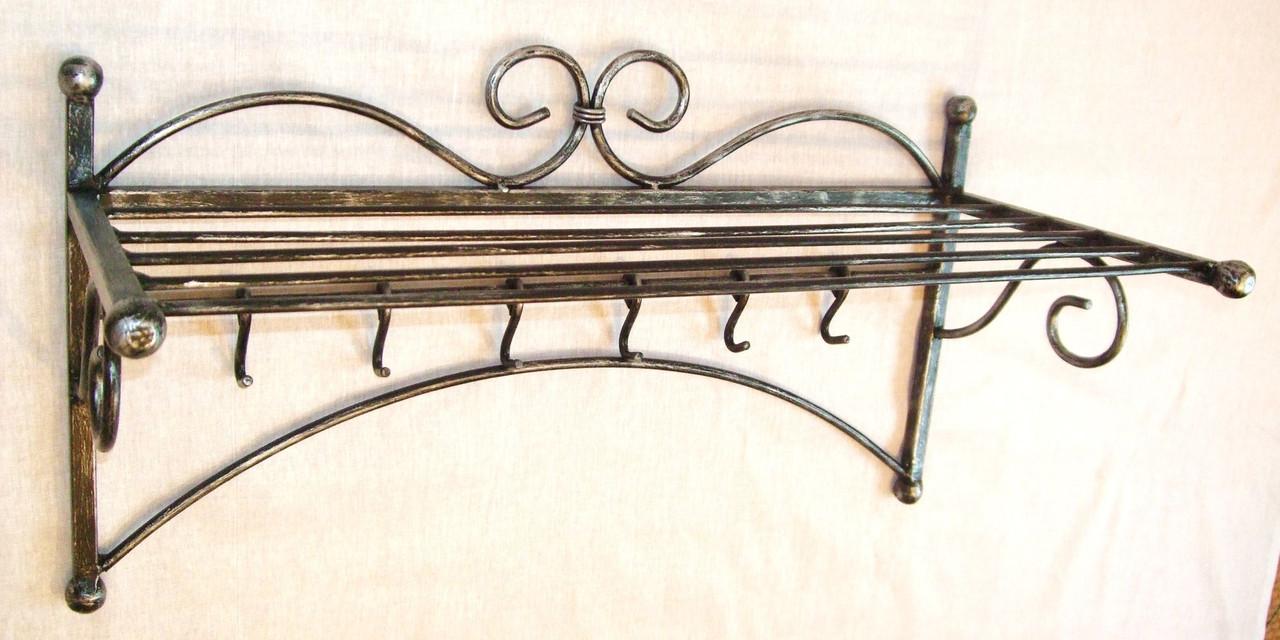 Кованая вешалка модель №225