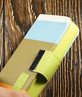 "Чехол Книжка ""Lines"" для Apple iPhone 4/4S Чехол-книжка для айфона"