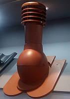 Вентиляционный выход с колпаком Kronoplast KDB для черепицы Бобровый Хвост