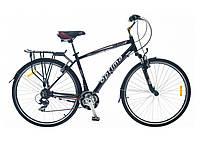 """Алюминиевый велосипед скидки до 10% Optima HIGHWAY 28"""" с багажником"""