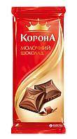 """Шоколад """"Корона"""" молочный 90г"""