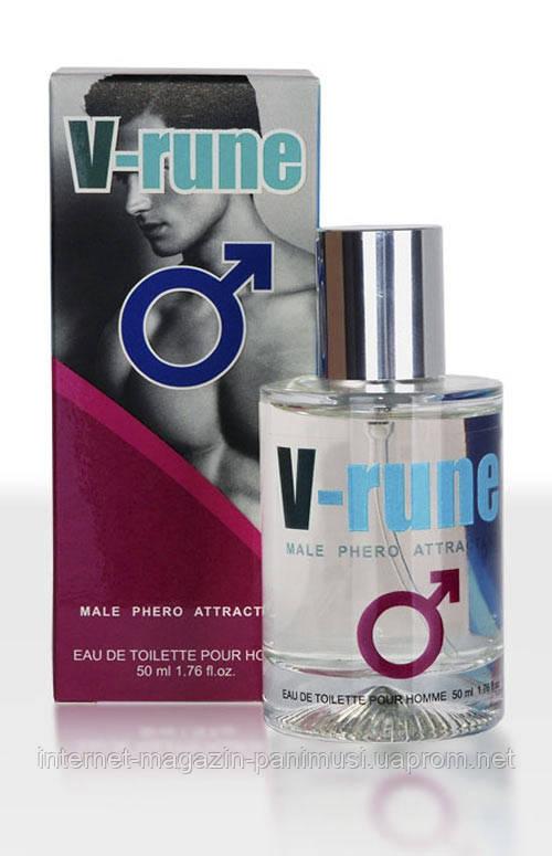 Мужские духи с феромонами  V-rune - Male Sex Attractant 50 ml