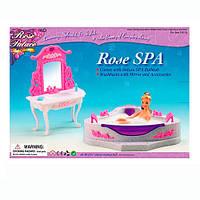 "Мебель для кукол (барби) Gloria ""Ванная комната"" 2613"