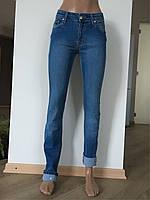 Джинсы женские модные зауженные Slim Skinny высокая талия завышенные модные Lexus jeans