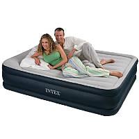 Надувной матрас кровать 67736 Intex (152х203х43 см)