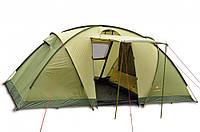 Палатка PINGUIN BASE CAMP - 4х местная зеленая