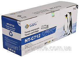 712 картридж аналог для Canon LBP-3010/ 3020, G&G CB435A Black
