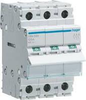 Выключатель нагрузки Hager 3-полюсный 400В/125А SBN399
