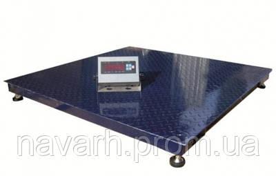 Платформенные весы 1200х1500 ПРЕМИУМ - 500кг.