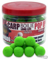 Бойлы плавающие Haldorado Carp  Long Life Pop Up 16 мм  40 гр  Зеленый перец