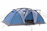Палатка PINGUIN BASE CAMP - 4х местная синяя