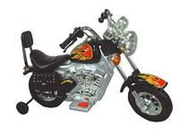 Эл-мобиль SC-893-BLACK мотоцикл 89*40*57см. 6V*4.5Ah,