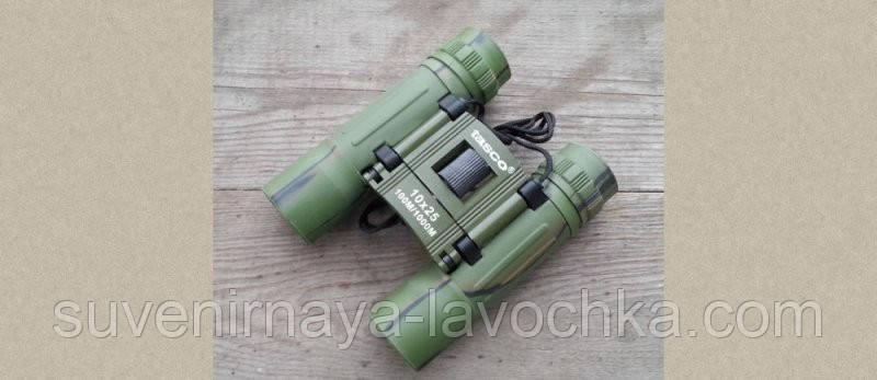 Бинокль детский camo 10x25 - T (green)